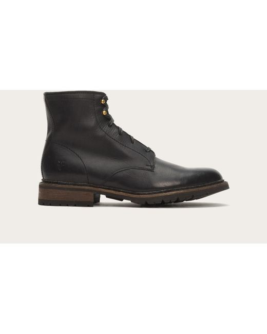 Frye | Black James Lug Lace Up for Men | Lyst