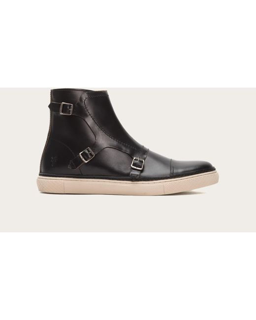 Frye | Black Gates Triple Monk for Men | Lyst