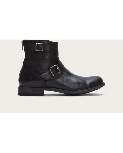 Frye | Black Tyler Engineer for Men | Lyst