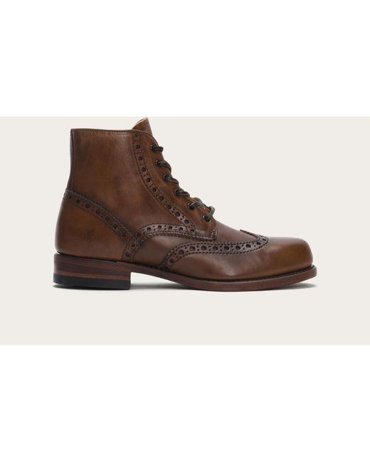 Frye | Brown Arkansas Wingtip Boot for Men | Lyst
