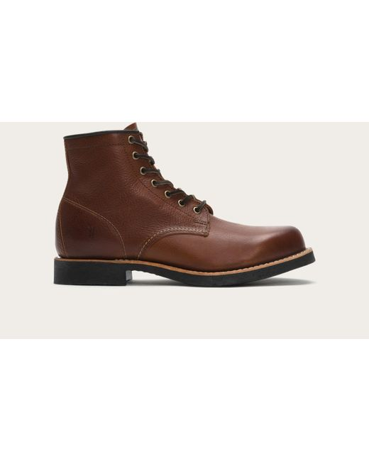 Frye - Brown Arkansas Mid Lace for Men - Lyst