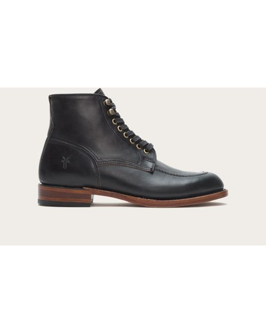 Frye | Black Walter Lace Up for Men | Lyst