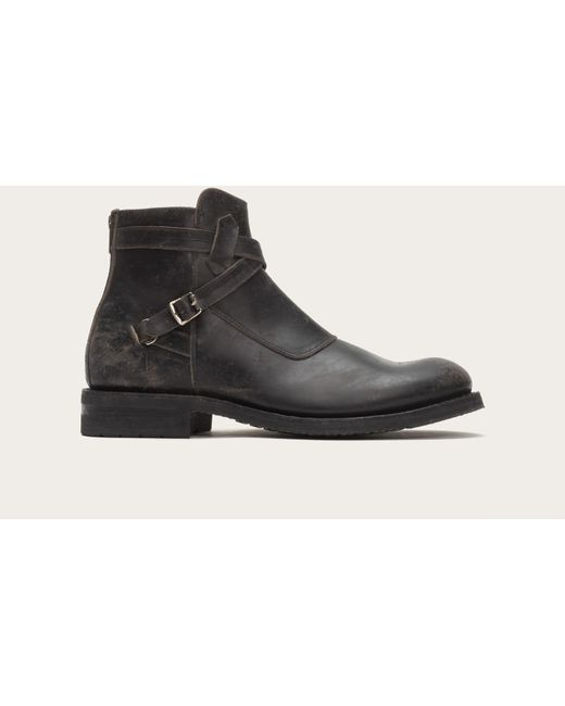 Frye | Black Stone Cross Strap for Men | Lyst
