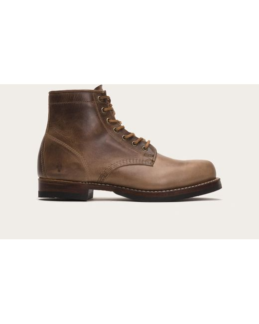 Frye | Brown John Addison Lace Up for Men | Lyst