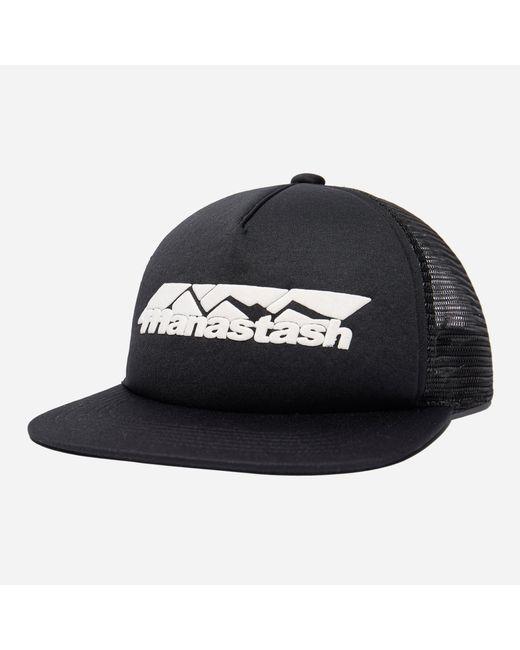 b5b0d1b5c Lyst - Manastash Mountain Trucker Cap in Black for Men - Save 19%
