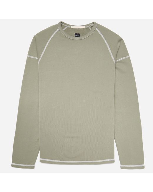 Albam | Green Contrast Stitch Football T-shirt for Men | Lyst