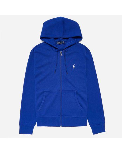 1ea4b49aebd2 Lyst - Polo Ralph Lauren Double Knit Tech Zip Hooded Sweat .