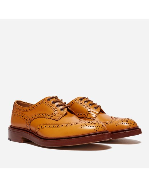 Tricker's - Brown Bourton Acorn Antique Heavy Brogue for Men - Lyst