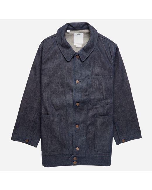 Visvim | Blue Benny Coverall Jacket for Men | Lyst