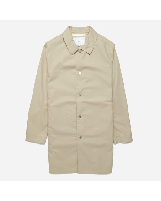 Norse Projects | Natural Thor Technical Poplin Jacket for Men | Lyst
