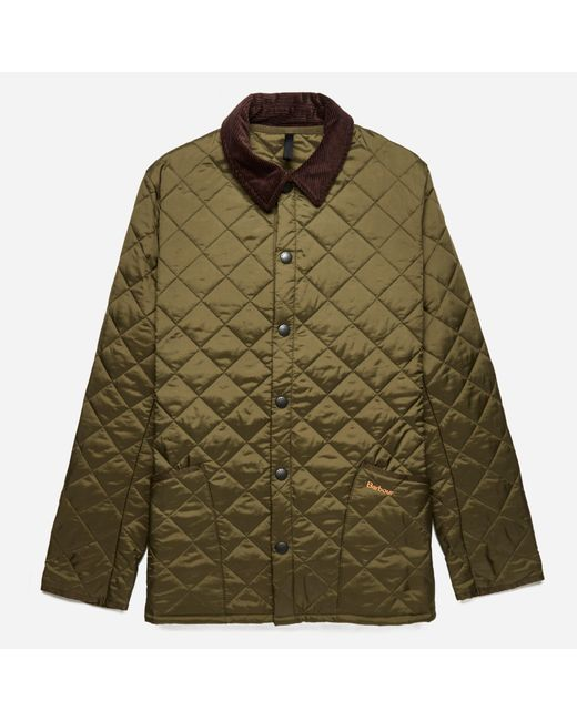 Barbour | Green Heritage Liddesdale Quilted Jacket for Men | Lyst