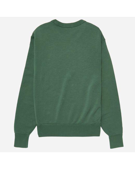 8b9c10cb78a6e ... Polo Ralph Lauren - Green Knit Fleece Sweatshirt for Men - Lyst ...