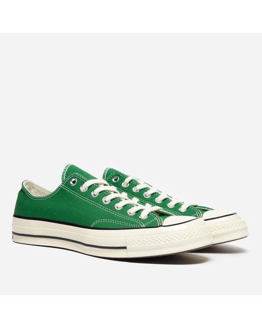 Converse - Green Chuck Taylor All Star 70 Ox for Men - Lyst ... dfa39905a