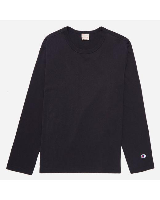 Champion | Black Long Sleeve T-shirt for Men | Lyst