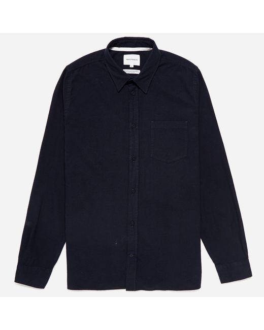 Norse Projects | Blue Hans Mouline Shirt for Men | Lyst