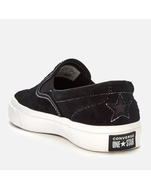 af65e9b79d2 ... Converse - Black One Star Cc Slip-on Trainers for Men - Lyst ...