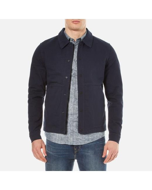 SELECTED | Blue James Jacket for Men | Lyst