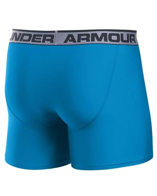 "Under Armour | Blue Original 6"""" Twist Boxerjock for Men 