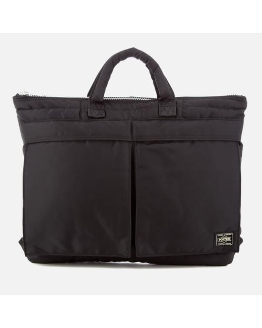 Porter | Black Tanker Briefcase for Men | Lyst