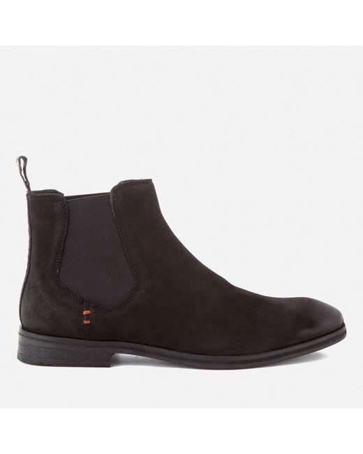 Superdry | Black Meteora Nubuck Chelsea Boots for Men | Lyst