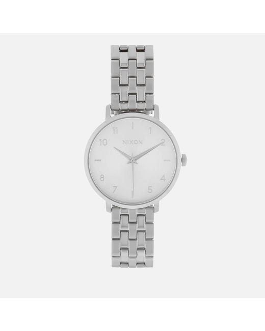 Nixon | Metallic The Arrow Watch | Lyst