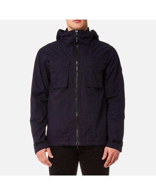 Marshall Artist - Blue Ripstop Jacket for Men - Lyst