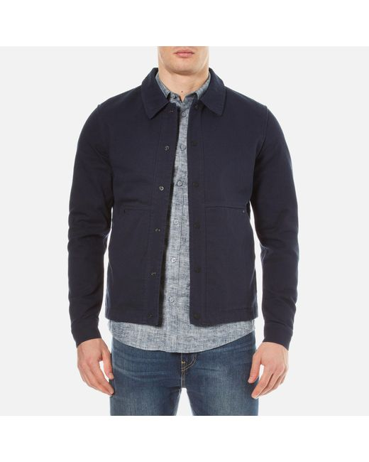 SELECTED | Blue James Jacket for Men | Lyst