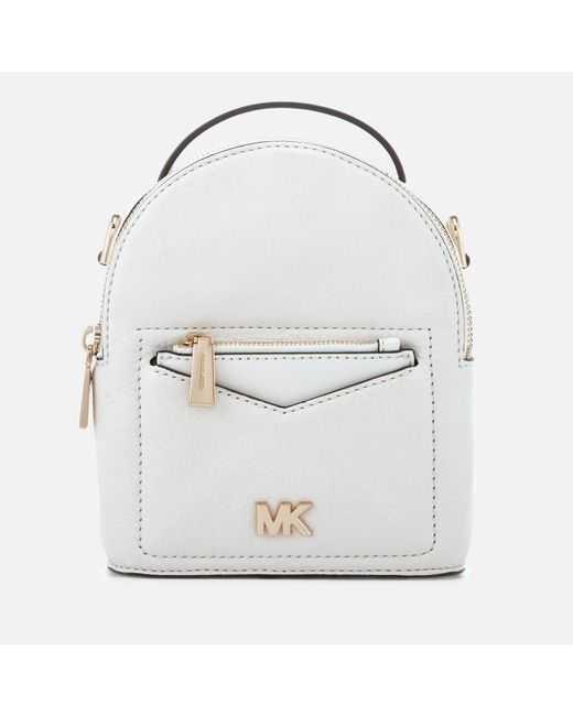 MICHAEL Michael Kors - White Jessa Extra Small Convertible Backpack - Lyst