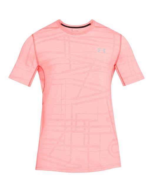 Under Armour - Red Threadborne Elite T-shirt for Men - Lyst