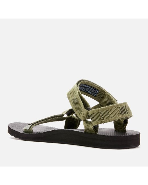 2605f2b5704e ... Teva - Green Original Universal Sandals for Men - Lyst ...