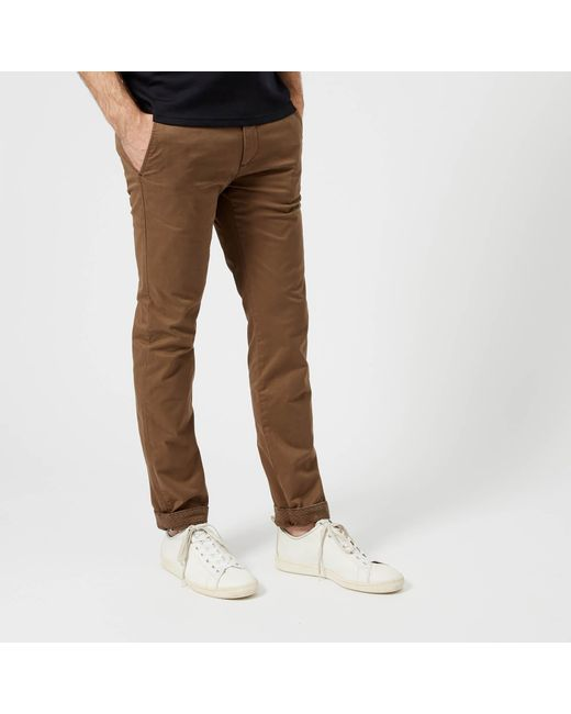 Ted Baker - Brown Procor Slim Fit Chinos for Men - Lyst
