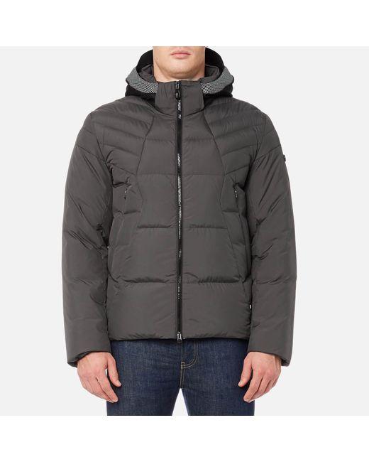 BOSS Green - Gray Jamba Padded Jacket for Men - Lyst
