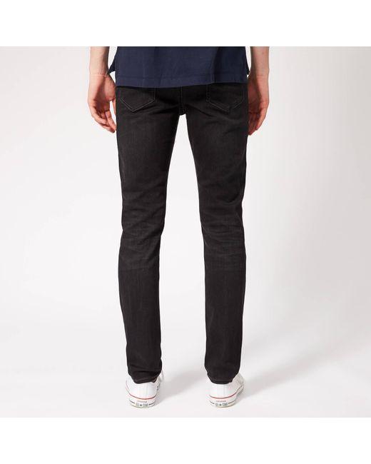9f4b54aab ... Tommy Hilfiger - Black Skinny Simon Jeans for Men - Lyst ...