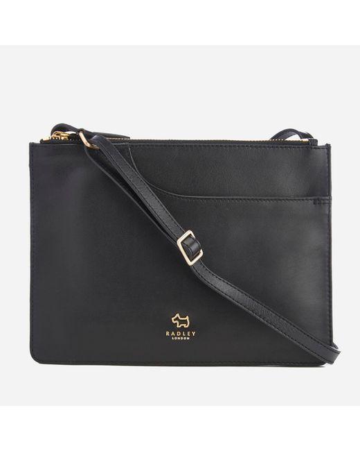 Radley - Black Pockets Medium Cross Body Pocket Compartment Bag - Lyst