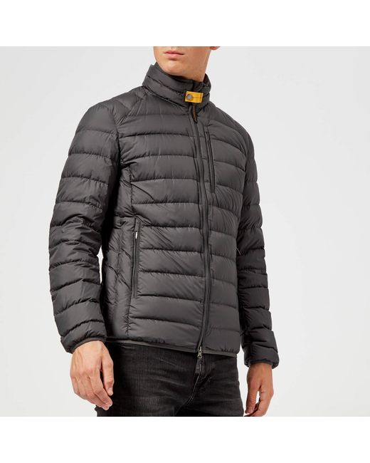 Parajumpers - Gray Ugo Padded Jacket for Men - Lyst ...