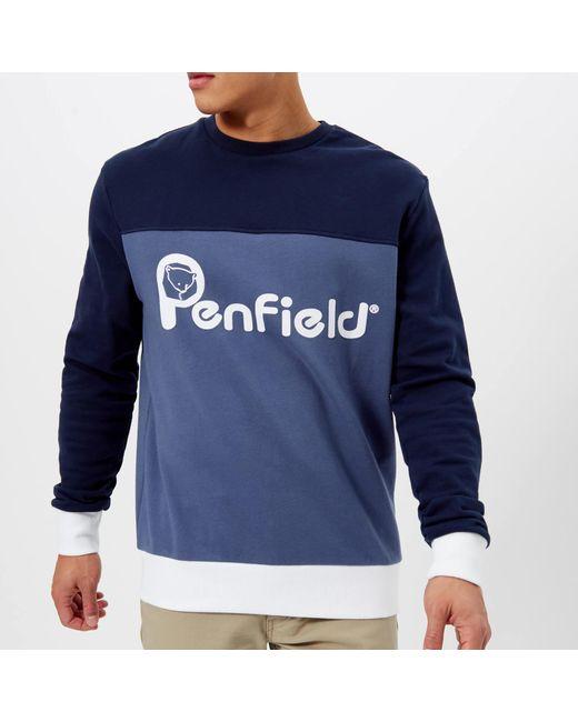 Penfield - Blue Orso Sweatshirt for Men - Lyst