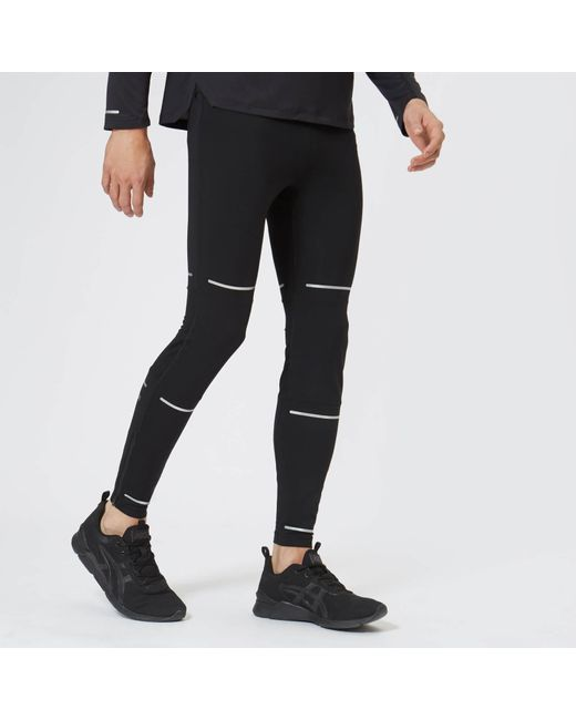 f9f499d767094 Asics - Black Lite-show Tights for Men - Lyst ...