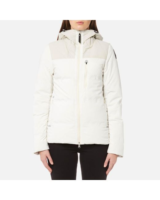 Parajumpers - White Kanya Kegen Down Coat - Lyst ...