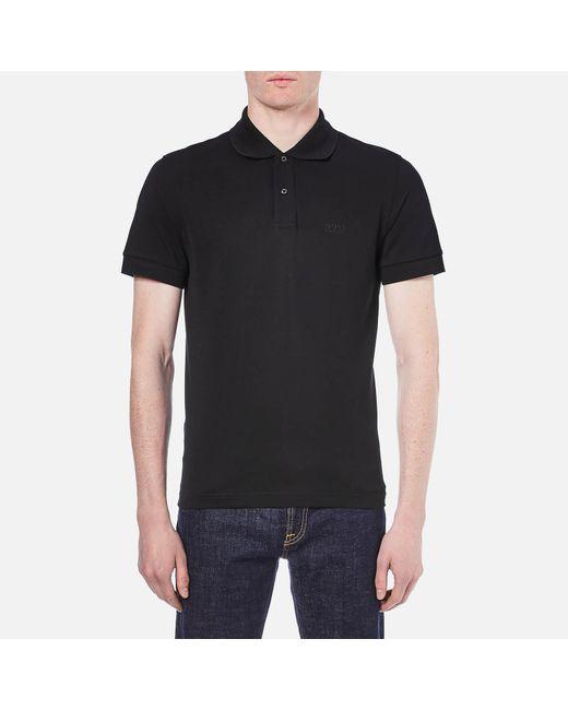 BOSS Green - Black Men's Cfirenze Polo Shirt for Men - Lyst