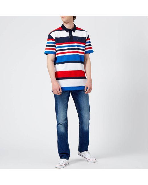 1d44316d ... Tommy Hilfiger - Blue Core Denton Straight Jeans for Men - Lyst ...