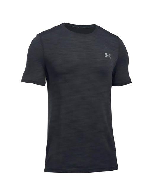 Under Armour - Black Threadborne Seamless T-shirt for Men - Lyst