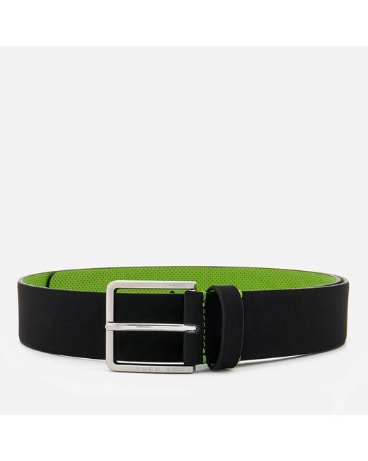 BOSS Green - Black Tiago Belt for Men - Lyst