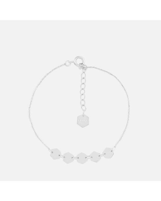 Cluse - Multicolor Essentielle Hexagons Chain Bracelet - Lyst