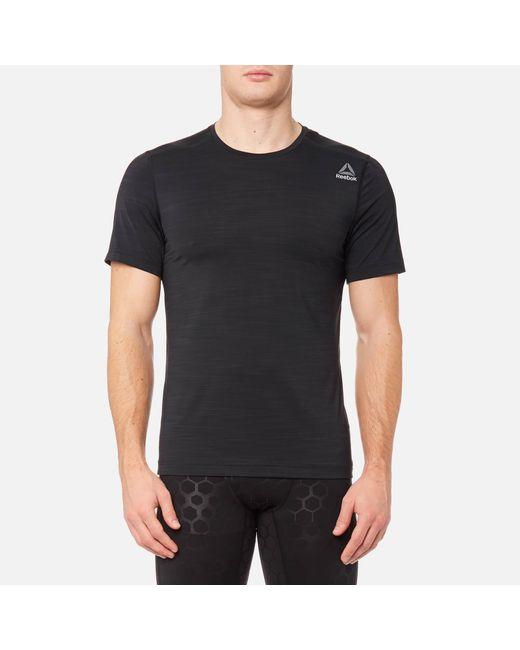 Reebok - Black Activechill Short Sleeve T-shirt for Men - Lyst