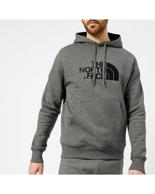 The North Face - Gray Drew Peak Hoodie for Men - Lyst