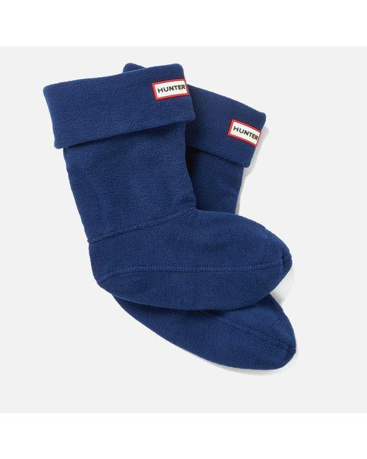 Hunter - Blue Short Boot Socks - Lyst
