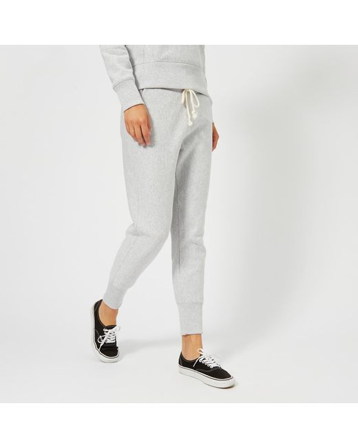 Champion - Gray Women's Sweatpants - Lyst