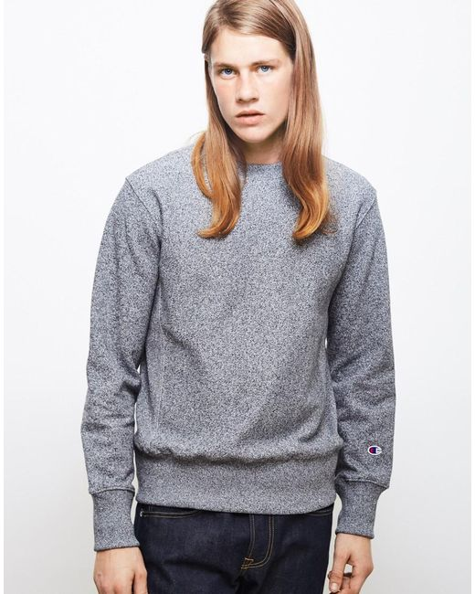 Champion | Gray Classic Reverse Weave Sweatshirt Grey for Men | Lyst