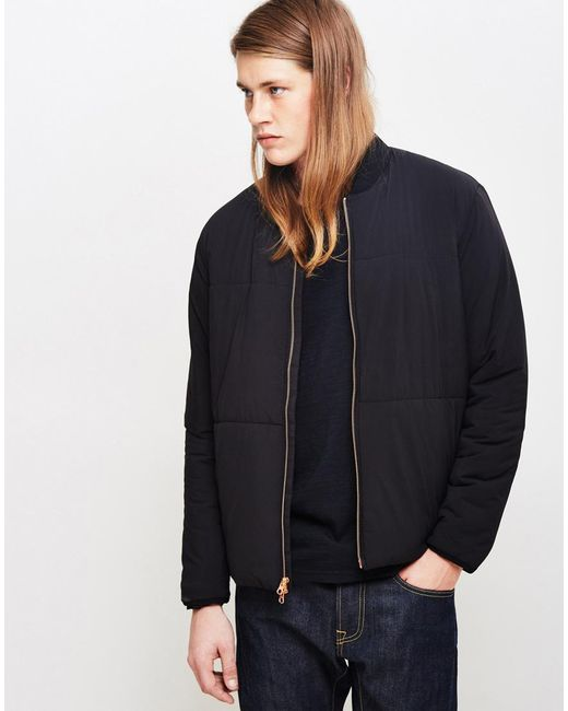 Levi's | Commuter Fill Bomber Jacket Black for Men | Lyst