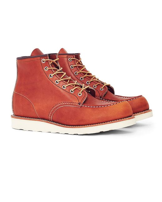 Red Wing | Multicolor Heritage 6-inch Classic Moc Toe Leather Tan for Men | Lyst